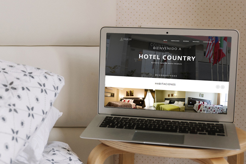Hotel Country<br>Diseño Web