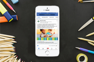 Nido Tiny Kids<br>Social Media