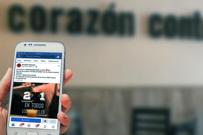 Corazon Contento<br>Social Media